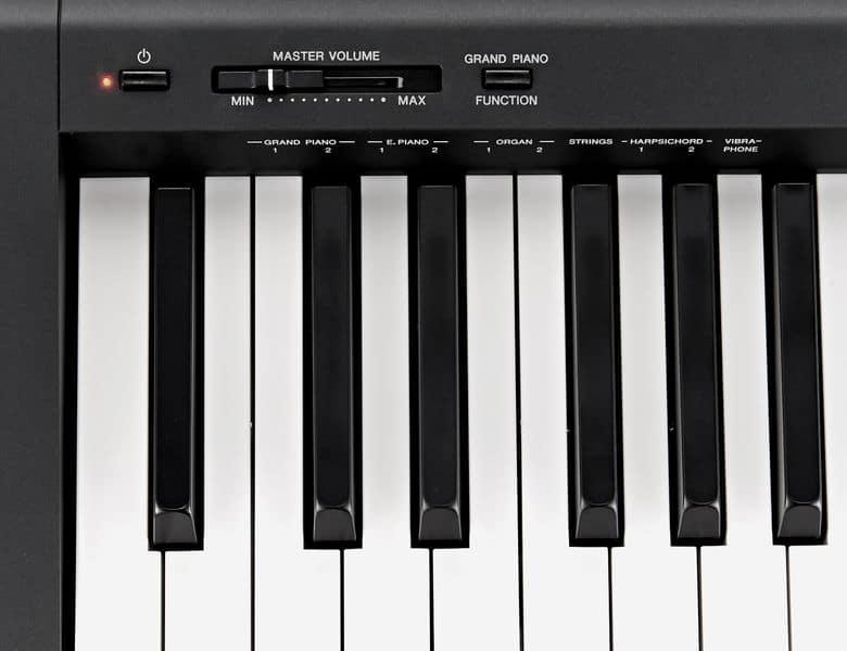 yamaha p45 avis test du piano num rique compact yamaha p 45. Black Bedroom Furniture Sets. Home Design Ideas